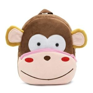 Other - Monkey Toddler Plush Backpack Bag Ages 1-4
